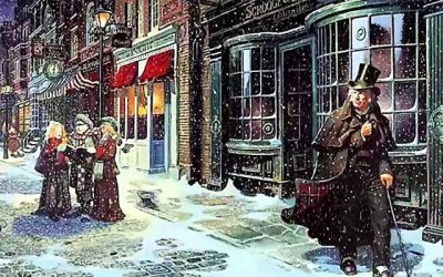 Charles Dickens at Christmas virtual tour